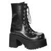 RANGER-301 Black Faux Leather